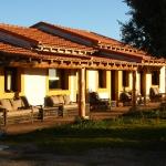 El porche del Lodge