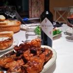 Carne de Campanarios y vino de Salamanca