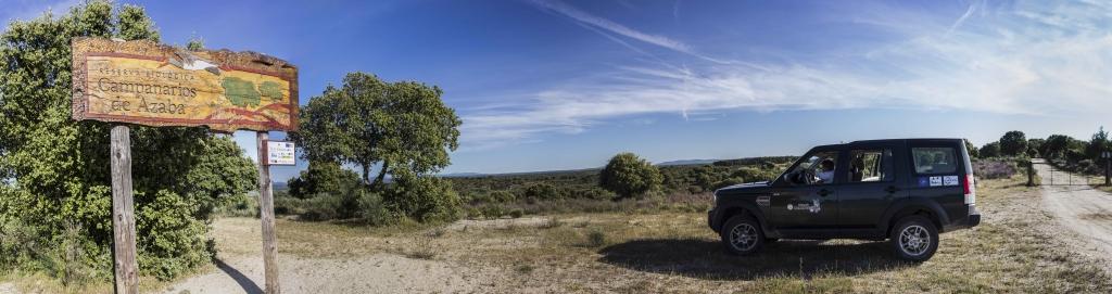 Entrada en la Reserva Campanarios de Azaba
