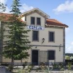 Fachada principal Posada La Estación