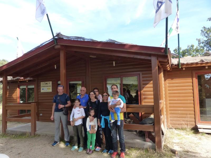 Visita de los vecinos de Espeja a la Reserva.